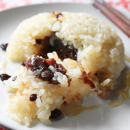 STICKY RICE WITH RAISINGS